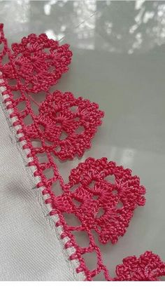 Esma's 360 media content and analytics Crochet Bolero Pattern, Crochet Edging Patterns, Crochet Bikini Pattern, Crochet Borders, Crochet Motif, Crochet Designs, Crochet Doilies, Crochet Stitches, Crochet Flowers