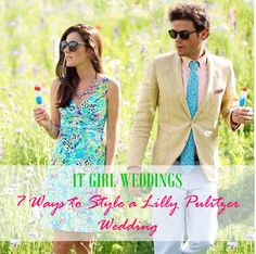 It Girl Weddings // 7 Ways to Style a Lilly Pulitzer Wedding (or event) http://www.itgirlweddings.com/blog/7-ways-to-style-a-lilly-pulitzer-wedding