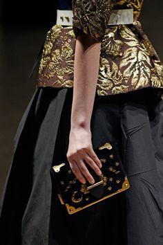 Pin for Later: Welche Maniküren tragen eigentlich die Models bei der Fashion Week? Maniküre bei Prada Herbst/Winter 2016, Milan Fashion Week