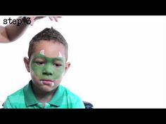 Halloween Face Paint - How To Do Dragon Face Paint
