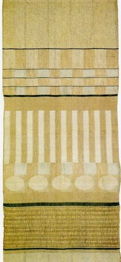 The Bauhaus Textiles of Gunta Stölzl