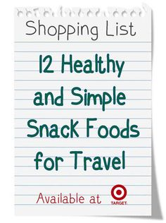Vacation Snacks: Buy Before You Go | Get Away Today Vacations - Official Site