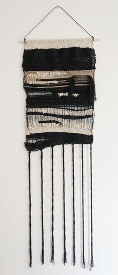 Fiber Art weaving by Barbara Rourke