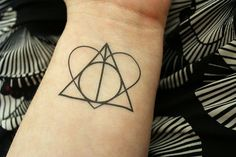 "Or this more elaborate one: | 21 ""Harry Potter"" Temporary Tattoos That Every Fan Will Love"