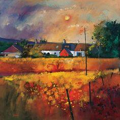 Art Prints Gallery - Moonlit Fields (Limited Edition), £125.00 (http://www.artprintsgallery.co.uk/Davy-Brown/Moonlit-Fields-Limited-Edition.html)