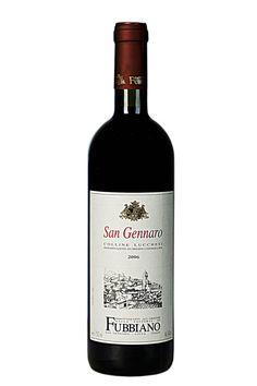 San Gennaro Colline Lucchesi DOC (Vineyards Fubbiano)