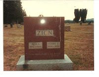MyFamilyRootsRunDeep: Tombstone Tuesday Perry Zion and Alta Hall Zion #genealogy