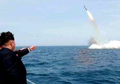 NORTH KOREA RAMPS UP: According to the South Korean military, the latest SLBM flew about 500 kilometers. The missile's range could reach 2,000 kilometers. Initially, it was expected to take two or three years for North Korea to be able to deploy SLBMs for combat use, but some observers say the deployment could happen earlier. http://www.nowtheendbegins.com/obama-ignores-north-korea-ramp-submarine-launched-ballistic-missile-technology/