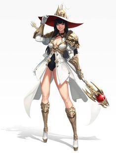 45 Ideas Digital Art Fantasy Girl Warriors Character Design For 2019 Fantasy Character Design, Female Character Design, Character Design References, Character Design Inspiration, Character Art, Fantasy Girl, Chica Fantasy, Fantasy Characters, Female Characters