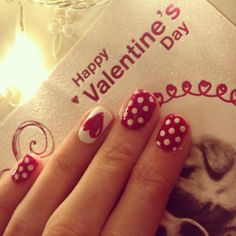 Easy Valentines Day Nail Collection