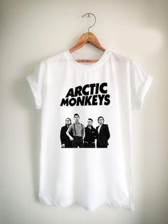 Arctic Monkeys Unisex Tshirt //Price: $15.99 //     #FunnyTShirtsForGuys
