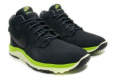 Check out the Atomic Green on the Nike Lunar Braata Mid OMS #sneakers