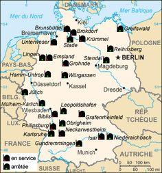 German nuclear power plants