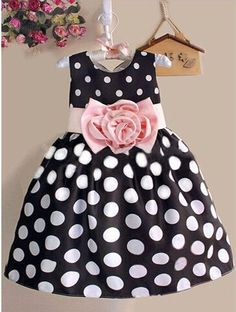 Polka Dot Sleeveless Dress- Available In 2 Colors