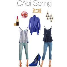 """Cabi Spring"" by hdawsonfnp on Polyvore www.kellygirl.cabionline.com"