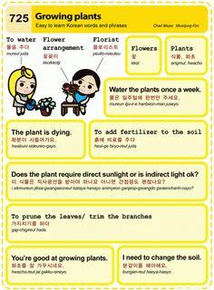 Easy to Learn Korean Language 721 ~ 730 Korean Words Learning, Korean Language Learning, Japanese Language Proficiency Test, Learn Hangul, Korean Writing, Korean Phrases, Korean Lessons, Language Study, Learn Korean