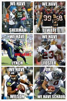 Seattle Seahawks v. Seahawks Memes, Funny Football Memes, Sports Memes, Funny Memes, Hilarious, Seattle Sounders, Seattle Mariners, Seattle Seahawks, Seattle Mist