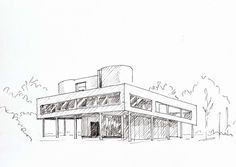 illustration croquis architecture - Recherche Google