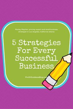 Tips to Build and Maintain a Successful Business! Check it out at https://theprofitgoddess.com/5-strategies-for-every-successful-business/