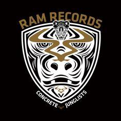 Ram Records Gorilla concept Sound Of The Underground, Underground Music, Drum, Bass, Concrete, Branding, Graphics, Urban, Brand Management