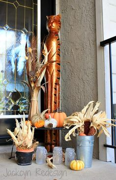 Jackcyn Redesign: Decorating With Pumpkins