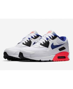 4c743bcc2a Nike Air Max 90 Ultramarine New Blue Black White Red Trainer,Nike exclusive  sponsorship of