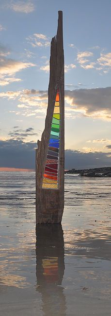 Current work by stained glass artist Louise V Durham, oh dear I really want… Stained Glass Designs, Stained Glass Projects, Stained Glass Patterns, Stained Glass Art, Mosaic Glass, Durham, Glass Garden Art, Driftwood Art, Wood Glass