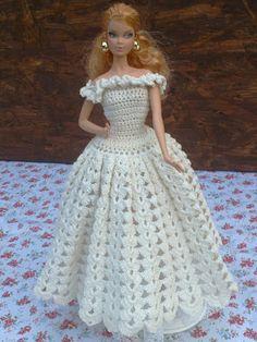 Moje tvořeníčko...: Šatičky pro panenku Barbie