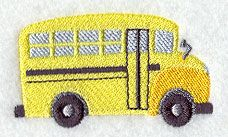 School Buses Stack - Back to School Bus design (H5535) from www.Emblibrary.com
