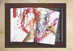 Proyecto Diseño Editorial - Andrea Almeida. #diseñográfico www.natural-design.es