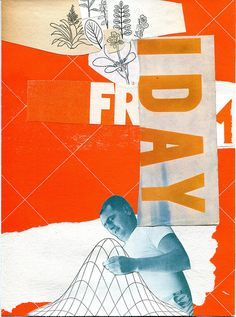 Collages, Collage Artists, Photomontage, Orange Friday, Free Collage, Orange Aesthetic, Wreck This Journal, Art Forms, Scrapbook