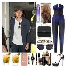 """""""Leaving the club with Niall"""" by zandramalik ❤ liked on Polyvore featuring Givenchy, STELLA McCARTNEY, Ruthie Davis, Perry Ellis, Matthew Williamson, Vera Wang, Gucci and Anne Klein"""