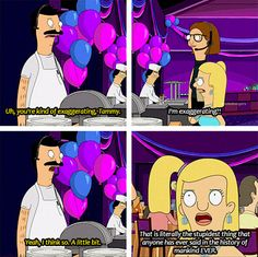 And The Hyperbole Award Goes To ... Love bobs burgers
