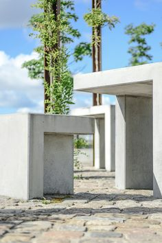 Specialelementer i beton Tabu, Arch, Outdoor Structures, Garden, Longbow, Garten, Lawn And Garden, Gardens, Wedding Arches