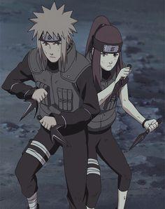 Naruto : Namikaze Minato, Uzumaki Kushina