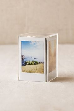 Instax Cube Frame | Keep your memories alive with this picture cube frame. | #home #decor #minimalism #simplicity #style #modern #design