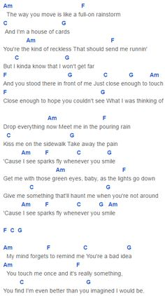 Taylor Swift You Belong With Me Guitar Chords Images - guitar chords ...