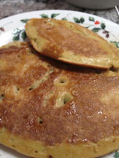 All Things Foodie: Paleo coconut pancakes. You can also sub coconut water in here too