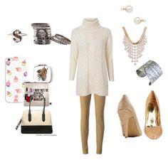 """Caroline Channing"" by vlmhark on Polyvore featuring Joseph, Glamorous, Blu Bijoux, Casetify, Sephora Collection, Designhype, women's clothing, women's fashion, women and female"
