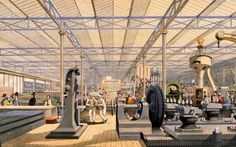 Overseen by Queen Victoria's husband Prince Albert, the Crystal Palace Exhibition was the world's first truly global exhibit of culture and industry. Queen Victoria Husband, Glass Building, Palace London, Exhibition Display, Crystal Palace, World's Fair, Back Home, American History, Inventions