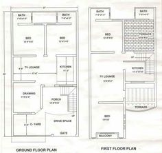 30x45 house plan house plan Pinterest