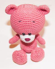 kostenlose Häkelanleitung - Amigurumi Teddy häkeln - Pina