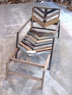 Pallet / Wood, diy lounge chair.