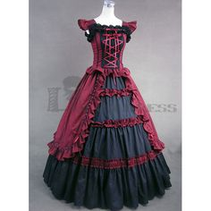 Black Victorian Dress Costume