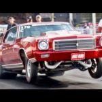 1971 Ford Maverick Grabber runs 20.050 @ 68.300 in the 1/4 mile
