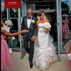 Vera Wang ❤️ London Wedding ❤️ Wale & Deji - captured by @atunbi | #BellaNaijaWeddings