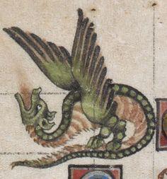 Psalter ('The Alphonso Psalter') c 1284-1316 Add MS 24686 Folio 14v