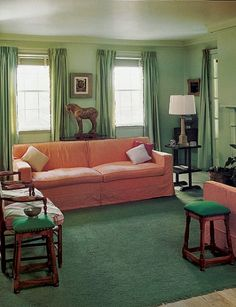 93 Best 1940s Home Decor Images Bedroom Vintage, Thrifty Decor 1940s Home  Colors 1940s Retro Living Room