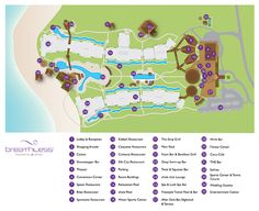 Breathless Punta Cana Resort Map ~ Unlimited Vacation Club