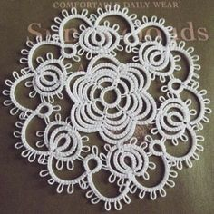 """⑅◡̈* ◆Work:2014 ◆Pattern:Book/""""A new approach to Tatting""""/""""タティングレース新しい世界""""/P. /by…"""